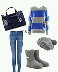 Outfit for winter! Stay in fashion in what ever the weather