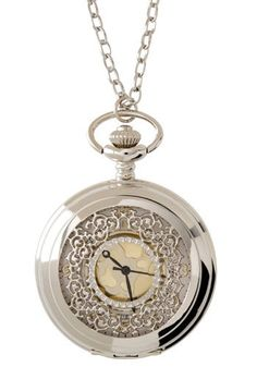I love pocket watches - and this is super cute (apart from the clock face ...)