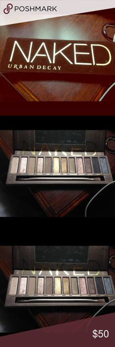 Naked eyeshadow pallet Used only to show colors BRAND NEW && authentic guaranteed ! Urban Decay Makeup Eyeshadow