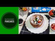 Clatite coapte la cuptor sau altfel spus, dutch bay pancakes. O reteta simpla de clatite super pufoase preparate la cuptor. Dutch Baby Pancake, Baby Pancakes, Blog, Pudding, Youtube, Desserts, Tailgate Desserts, Deserts, Custard Pudding