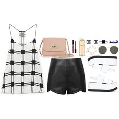 Untitled #198 by imyeni on Polyvore featuring TIBI, Ally Fashion, Joseph, Mulberry, Chanel, Tory Burch, BERRICLE, Domo Beads, Ray-Ban and Christian Dior