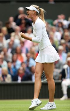 Maria Sharapova - first round Match on Day1 of the Wimbledon June 24-2013 #WTA #Wimbledon #Sharapova