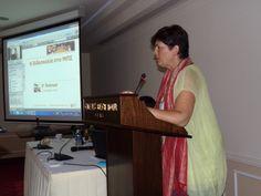 """Η ακαδημαϊκή υπεύθυνη του ΜΠΣ """"Επικοινωνία & Νέα Δημοσιογραφία""""  Σοφία Ιορδανίδου μας καλωσορίζει στο #retreat2014"""