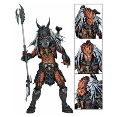 Predator Clan Leader Deluxe 7-Inch Scale Action Figure