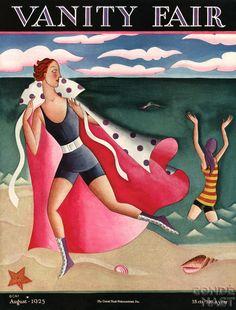 Miguel Covarrubias - Vanity Fair - Beach
