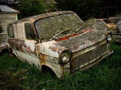 Ford Transit. Dannevirke, New Zealand