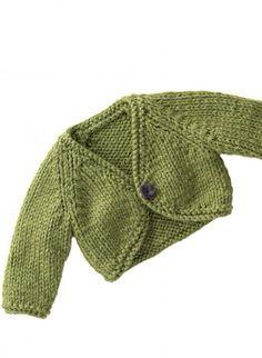cardigan bimbi - spiegazioni - la maglia di marica