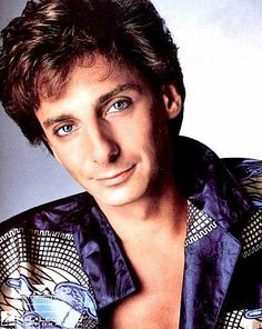 Barry Manilow smiling.