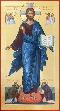 Religious Images, Religious Icons, Religious Art, Byzantine Icons, Byzantine Art, Christ Pantocrator, Greek Icons, Jesus E Maria, Christian Artwork