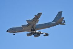 KC-135A, #10277, Stratotanker rolling at Nellis Air Force Base During Red Flag 10-4.
