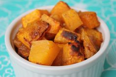 Carmelized Banana Squash by Deals to Meals--butter, brown sugar, a little cinnamon and ginger and you have a fabulous recipe to use up the banana squash in your garden. Even the kids were going back for seconds!!