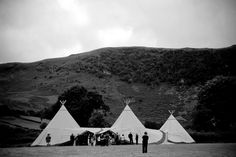 A beautiful set-up in the English countryside, perfect for an outdoors Tipi Wedding. Choose our Three Giant Tipis Set-up to accommodate 160 seated guests or up to 210 standing people. Perfect for big parties and events! Tipi Wedding, Wedding Fair, Marquee Wedding, Wedding Story, Green Wedding, Wedding Ideas, Teepee Tent, Teepees, Marquee Hire