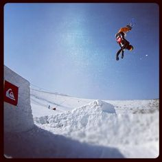 Ryde Jones Backflip (Photo: Quiksilver/Patto) Check out all the action from the Park at above Sea Level. Welcome to Afriski and . Sea Level, Snowboarding, Mount Everest, Highlights, Action, Mountains, Park, World, Nature