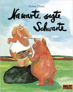 Na warte, sagte Schwarte: Vierfarbiges Bilderbuch MINIMAX: Amazon.de: Helme Heine: Bücher