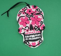 Check out this item in my Etsy shop https://www.etsy.com/listing/211847309/sugar-skull-day-of-the-dead