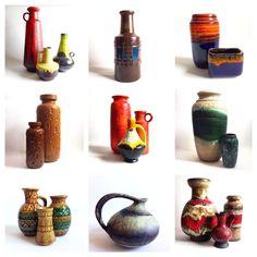 Fat Lava- A West German Ceramics Collection