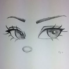 Pin by dawn doxey on eye art in 2019 art sketches, art drawings, pencil dra Art Drawings Sketches Simple, Anime Drawings Sketches, Pencil Art Drawings, Art Sketches, Drawings Of Eyes Easy, Drawings Of Faces, Eye Pencil Drawing, Hand Drawings, Music Drawings