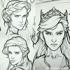 Archeron sisters : Nesta, Elain and Feyre. This is so beautiful!!