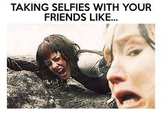 It's all too real... #selfie