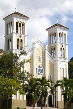 Catholic church in Rio Piedras  Iglesia del Pilar, Plaza de Recreo, Río Piedras.  I attended mass there when I was a kid.