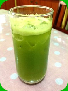 Grapefruit Green Apple Romaine Juice
