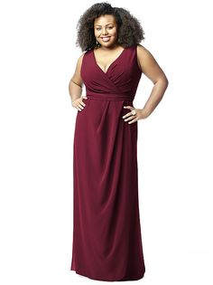 Lovelie Plus Size Bridesmaid Style 9009 http://www.dessy.com/dresses/bridesmaid/9009/