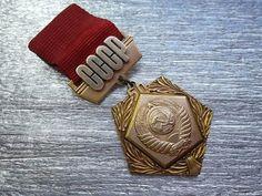 Rare soviet pin badge award sign medal 50 by KlimentinaVintage, $9.00