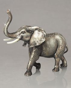 Elephant Figurine by Jay Strongwater at Neiman Marcus. $4,900.00!!!