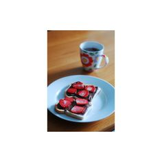 Pretty Foods & Pretty Drinks ❤ liked on Polyvore featuring food and sweets