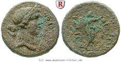 RITTER Kilikien, Korykos, Aphrodite, Hermes #coins