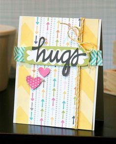Bella Blvd Snapshots. Hugs card by DT member Ashley Marcu