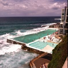 Coastal walk - Bondi Beach Sydney Beaches, Bondi Beach, Before I Die, Snow And Ice, Jet Set, Wander, Coastal, Pools, Places