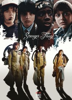 Dustin: Gaten, Mike: Finn, Lucas: Caleb, Will: Noah Stranger Things Upside Down, Watch Stranger Things, Stranger Things Have Happened, Stranger Things Season 3, Stranger Things Netflix, Sci Fi Tv Shows, Cinema, Memes, Science Fiction Art