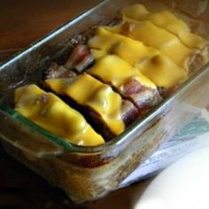 Low-Carb Bacon Cheeseburger Meatloaf - lowcarb-ology