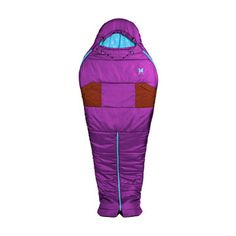 Sexy Hotness Sleeping Bag Purple  Alite Designs  sexual sleeping bag unzips