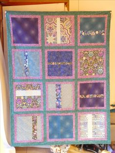 Large quilt for Project Linus, March 2017