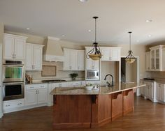 This is a Kitchen that Mauk Cabinets Designed in Chustnut hill