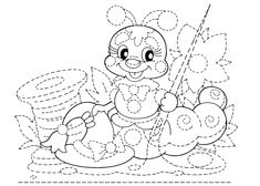 grafomotricidad avanzada04 Coloring For Kids, Coloring Books, Coloring Pages, Connect The Dots, Motor Activities, Fine Motor Skills, Early Learning, Hand Embroidery, Snoopy