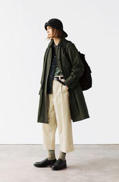 LOOKBOOK MHL AUTUMN WINTER 2020 | MARGARET HOWELL Retro Outfits, Casual Outfits, Fashion Outfits, Womens Fashion, Pantalon Slouchy, Androgynous Fashion, Oui Oui, Business Outfits, Minimal Fashion
