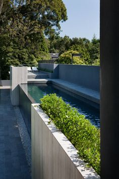 Inspiration: Beautiful Above-Ground Pools---- It would actually be a fairly simple thing to make...