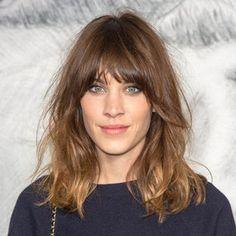 Alexa Chung Hair Trend | Fall 2012