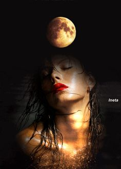 Face Portrait Effect by Plant using Adobe Photoshop Beautiful Moon Images, Beautiful Fantasy Art, Beautiful Gif, Love Images, Double Exposure Photography, Dark Photography, Beau Gif, Fractal, Surreal Photos