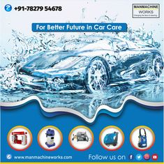 Car Wash Equipment – Manmachine works provides car washer equipment from the India's leading car wash manufacturers. Our car wash systems include self service various high quality car wash equipment. Car Washer, Washer Pump, Car Wash Systems, Car Wash Equipment, Automatic Car Wash, Car Wash Business, Washer Machine, Car Vacuum, Top Cars