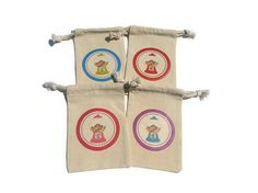 Bubble gum Machine Birthday Party Favor Bags Set by HodgePodgeNC
