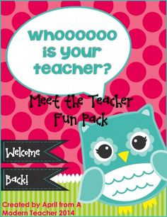 back to school www.amodernteacher.com, $