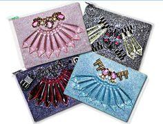 Mawi Glitter Bug clutch bags