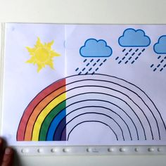 Clouds, sun and rainbow | Early Learning Toys