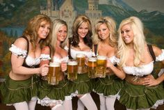 The beer and bratwurst lovers guide to Oktoberfest German Women, German Girls, Octoberfest Girls, Drindl Dress, October Festival, Beer Maid, Beer Girl, German Beer, Beer Festival