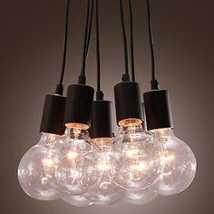 Riippuvalaisin,+Minimalistinen,+7+lamppua+-+USD+$+149.99