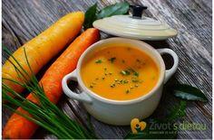 Mrkvová polévka (verze bez brambor)